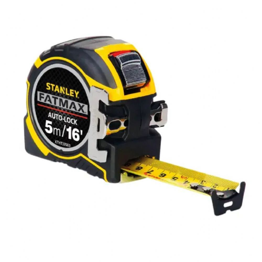 Stanley 033503 Fatmax Autolock Pocket Tape Measure 5m/16ft (Width 32mm)
